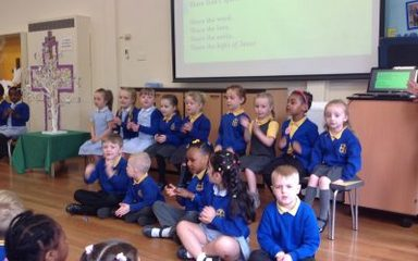 Collective Worship Friday 8th June led by Reception Class