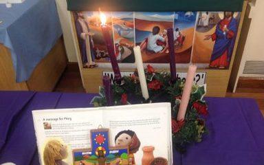 Advent Liturgy 1 Friday 30th November 2018 led by Y2