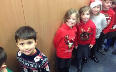 Christmas Lunch and Christmas Jumper Day 2018