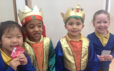 Our Third Advent Liturgy led by Reception Class