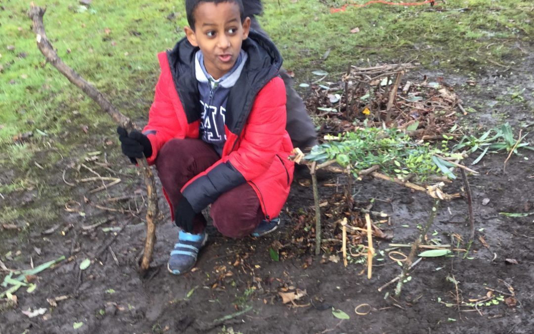 Year 5 outdoor learning