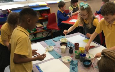 Colour Mixing in Year 3