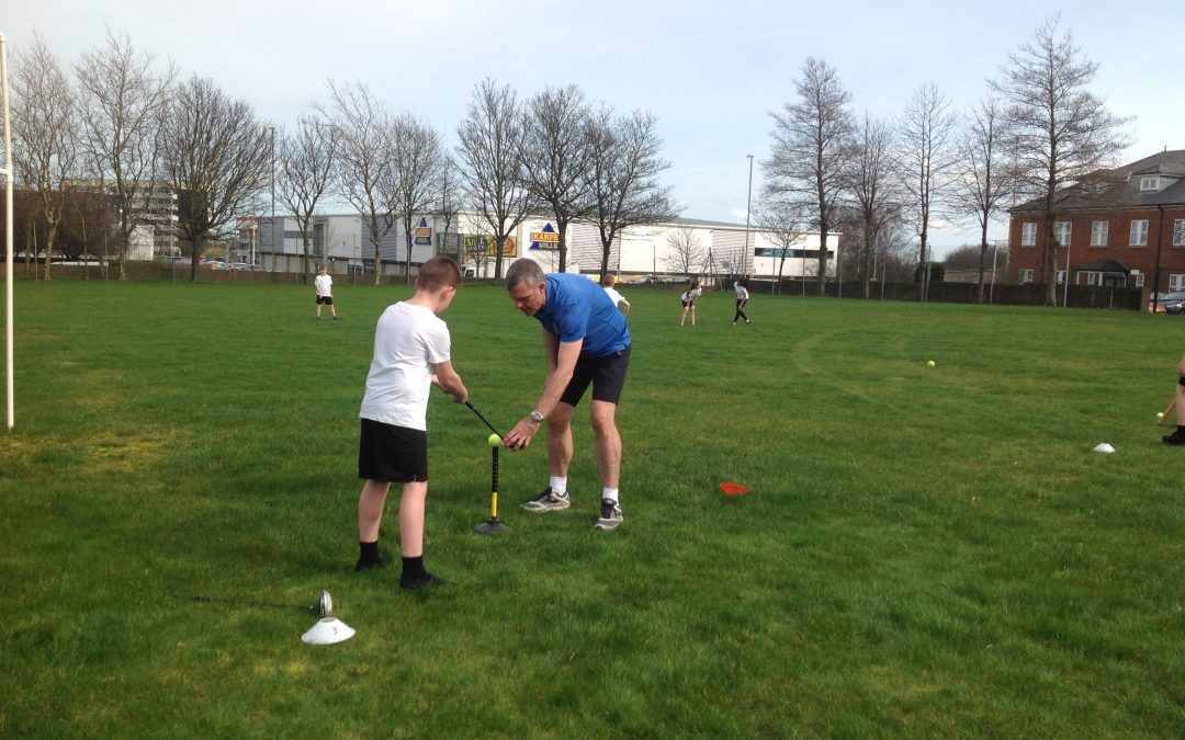 Golf session for Year 5