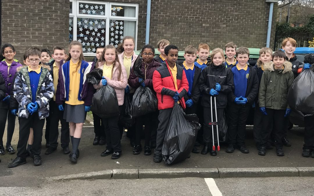 Year 5 Litter Pick