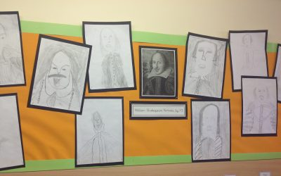 Shakespeare Week Art in Y3
