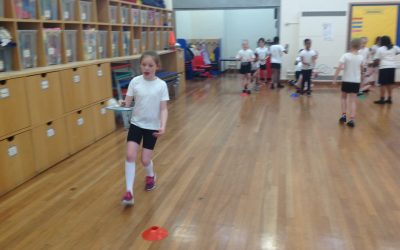 Badminton Session for Y3