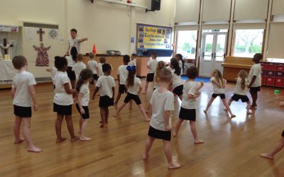 Karate Session in Year 1