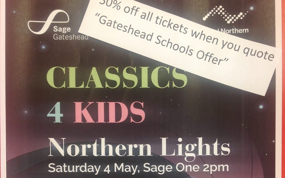 Classics 4 Kids @ The Sage Gateshead