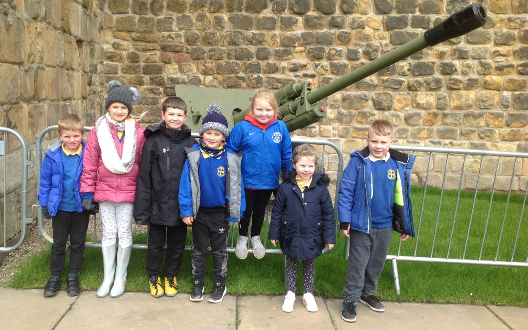 Year 2's Educational visit to Alnwick Castle