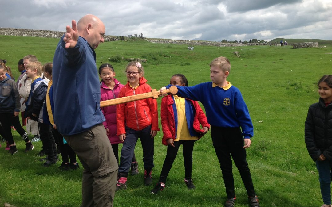 Y4 Educational Visit to Housesteads