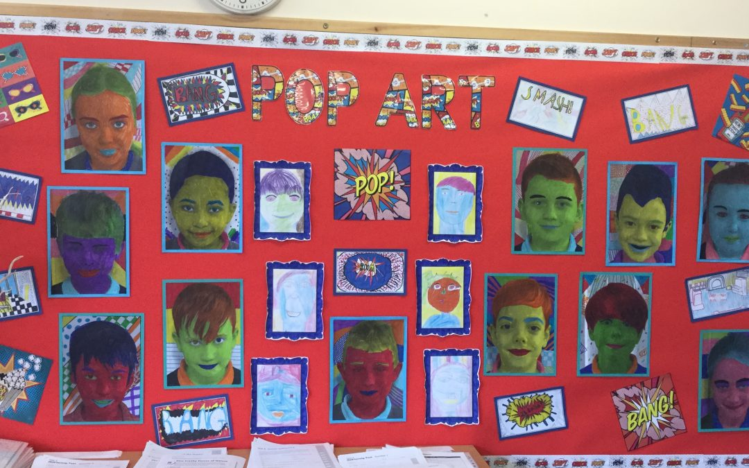 Pop Art in Year 5
