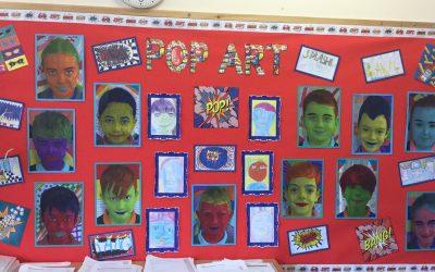 Pop Art in Year 5