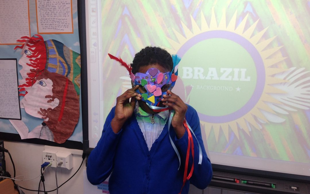 Carnival Masks in Year 4