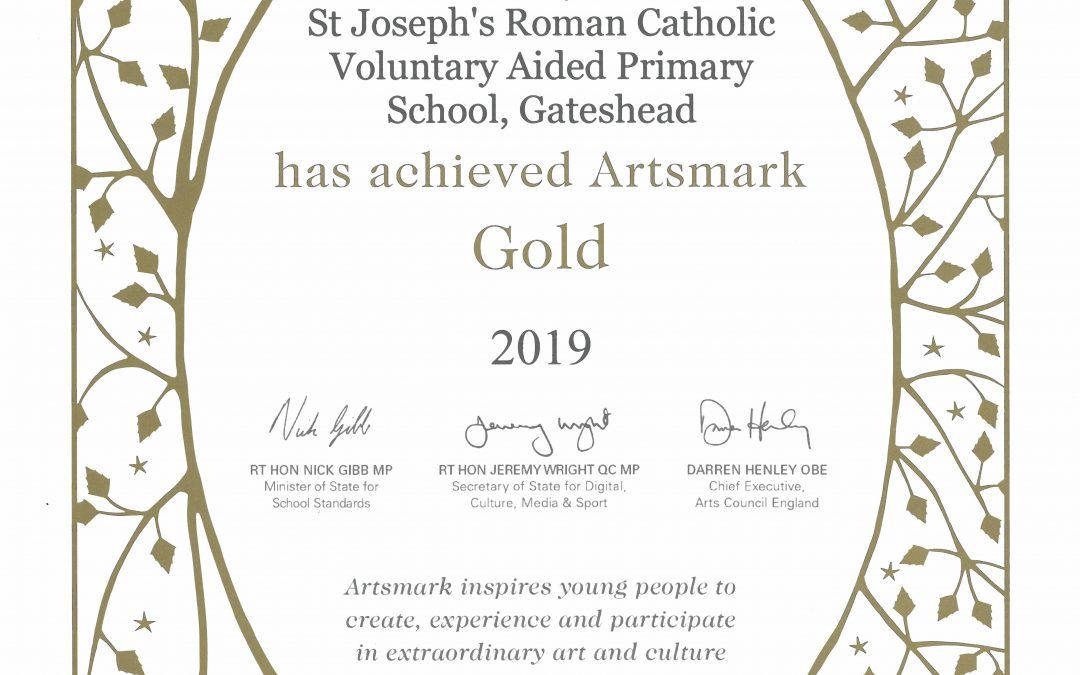 Arts Mark Gold Award