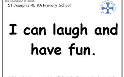 Wednesday 25th September: I can laugh and have fun